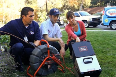 Pipe inspection camera equipment used by Thousand Oaks plumbers